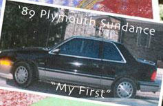 1988 Plymouth Sundance picture - Only picture I have of it from an old college project.