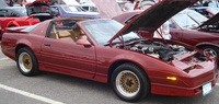 1989 Pontiac Trans Am picture, exterior, engine