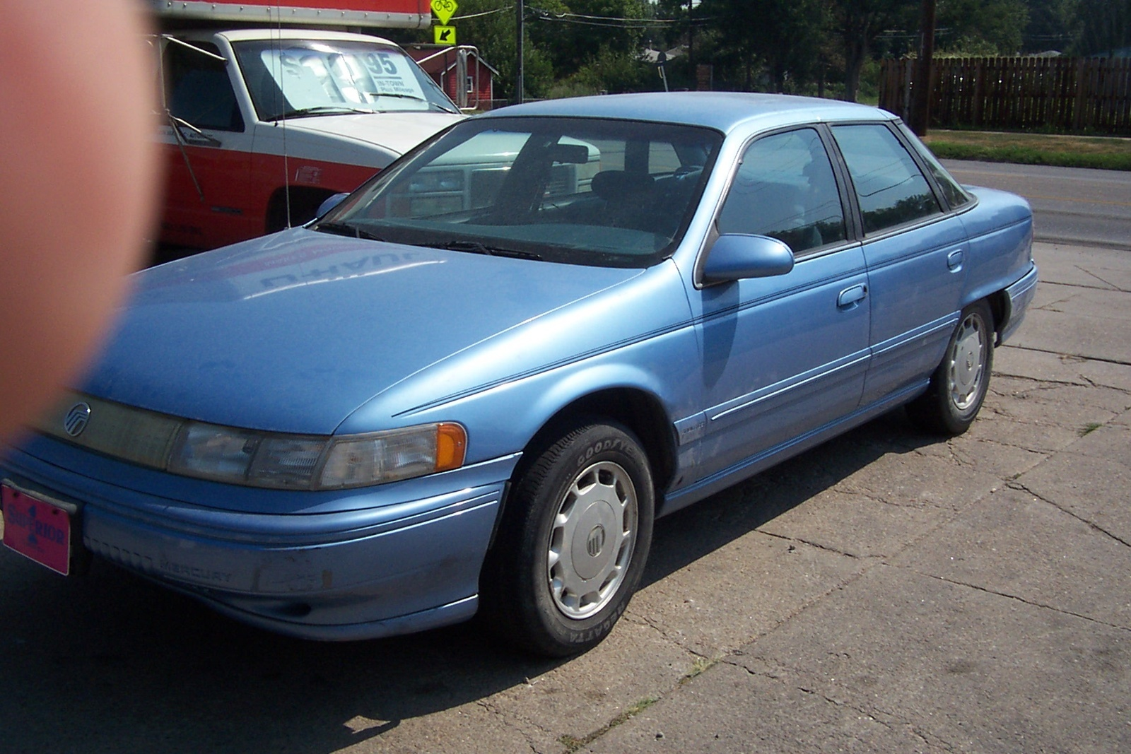 Mercury Sable Pic X on 1989 Dodge Ram Blue