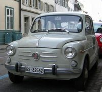 1957 Fiat 600 Overview