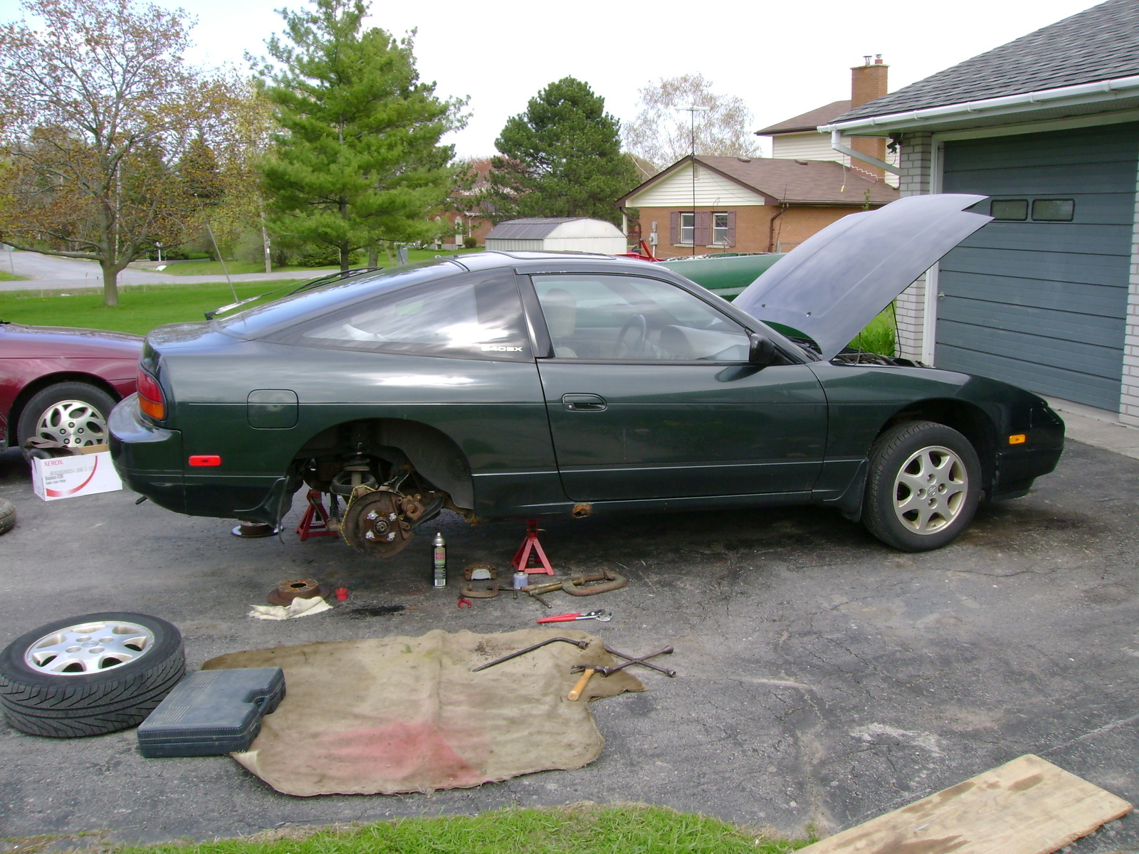 Nissan 240SX Questions - How do you swap a manual transmission into a nissan  240sx that has an ... - CarGurus