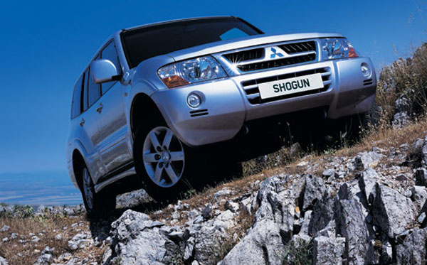 Picture of 2005 Mitsubishi Shogun, exterior