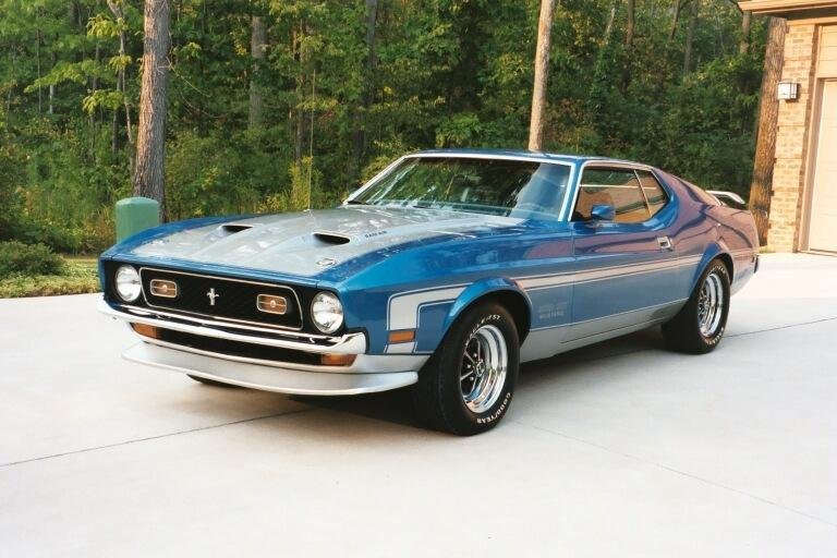 picture of 1971 ford mustang mach 1 exterior. Cars Review. Best American Auto & Cars Review