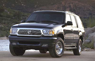 2001 Mercury Mountaineer 4 Dr STD AWD SUV picture