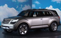 2009 Kia Borrego Overview