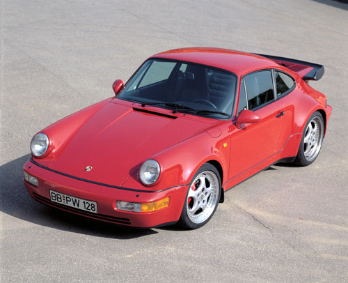1991 Porsche 911 Turbo, Picture of 1991 Porsche 911 2 Dr Turbo Coupe, exterior