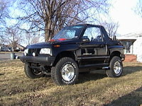 Picture of 1995 Geo Tracker 2 Dr LSi 4WD Convertible, exterior, gallery_worthy