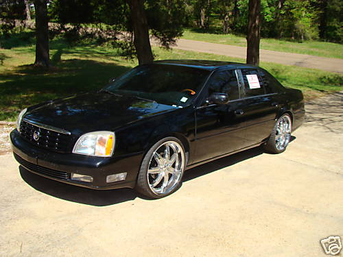 2005 Cadillac DeVille On Rims
