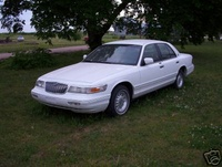 1996 Mercury Grand Marquis 4 Dr LS Sedan picture, exterior