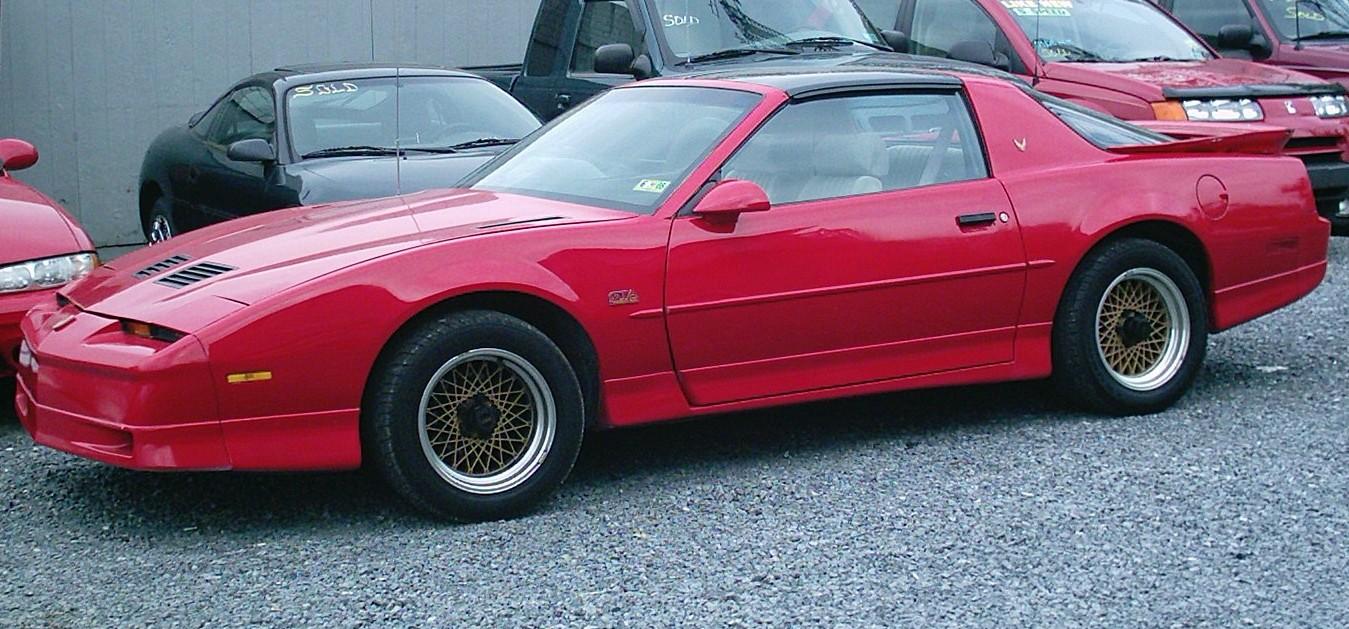 1989 Pontiac Firebird Exterior Pictures Cargurus