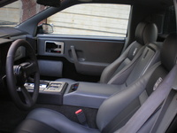 1988 Pontiac Fiero GT picture, interior
