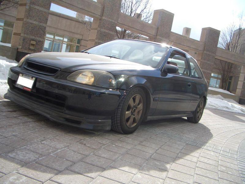 1997 Honda Civic DX Hatchback, 1997 Honda Civic 2 Dr DX Hatchback picture, exterior