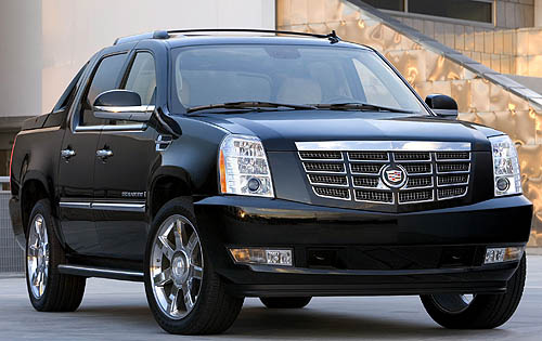 Picture of 2008 Cadillac Escalade EXT 4WD, exterior, gallery_worthy