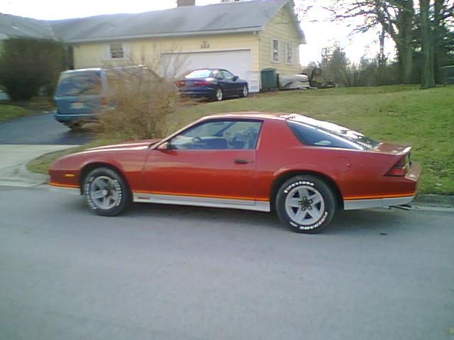 1983 Chevrolet Camaro, 83 red camaro., exterior