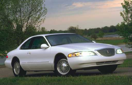 1998 Lincoln Mark VIII 2 Dr LSC Coupe picture, exterior