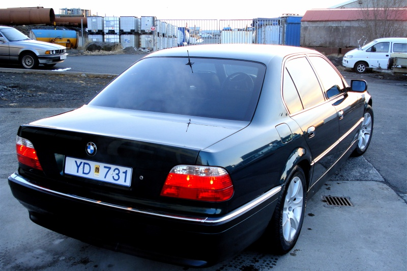 1997 BMW 7 Series 750i, 1997 BMW 750 750i picture, exterior