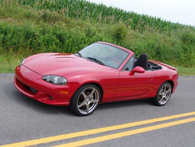2005 Mazda MAZDASPEED MX-5 Miata 2 Dr Grand Touring Turbo Convertible picture