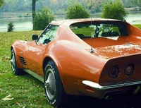 1972 Chevrolet Corvette Coupe picture, exterior