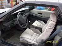 1989 Dodge Daytona picture, interior