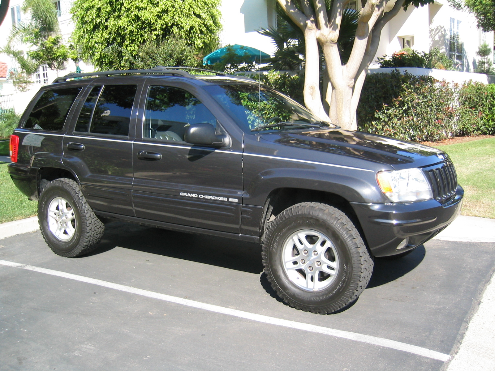 picture of 1999 jeep grand cherokee limited 4wd exterior. Black Bedroom Furniture Sets. Home Design Ideas