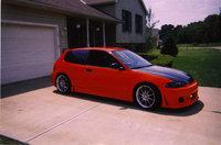 1995 Honda Civic DX Hatchback, 1995 Honda Civic 2 Dr hatchback after mods :), exterior