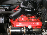 1958 Chevrolet Biscayne, CHEVY 58 283, engine