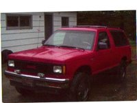 1990 GMC S-15 Jimmy Overview