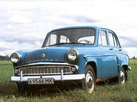 1963 Moskvitch 407 Overview