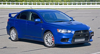 2008 Mitsubishi Lancer Evolution Picture Gallery
