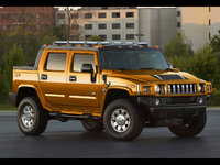 Picture of 2009 Hummer H2 SUT, exterior, manufacturer