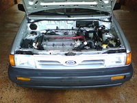 1991 Ford Festiva L, 1991 Ford Festiva 2 Dr L Hatchback picture, engine