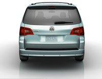 2009 Volkswagen Routan, back view, exterior, manufacturer