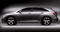 2009 Toyota Venza, side view, exterior, manufacturer