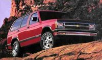 1992 Chevrolet Blazer Overview