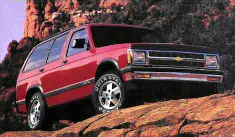 1992 Chevrolet Blazer picture
