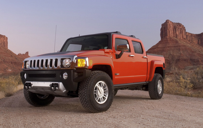 2009 Hummer H3T picture