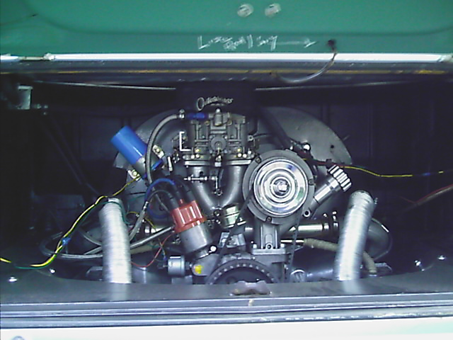 1971 Volkswagen Type 2 picture, engine