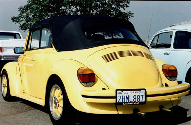 1974 Volkswagen Super Beetle, QTPA2D MY BEACH CRUISER, exterior, gallery_worthy