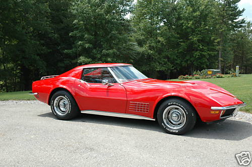 1970 Chevrolet Corvette Convertible picture, exterior