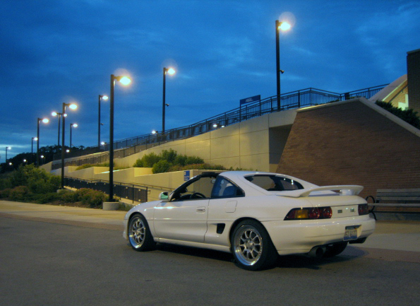 1991 Toyota MR2 2 Dr Turbo Coupe picture