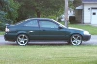 Picture of 2000 Honda Civic EX Coupe, exterior