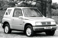 1990 Suzuki Escudo Overview