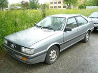1988 Audi Coupe Overview