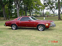1976 Chevrolet Chevelle, Original Owner. Many hours of sweat and tears, exterior