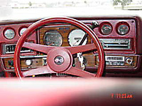 1976 Chevrolet Chevelle, Full Instruments and tach, exterior