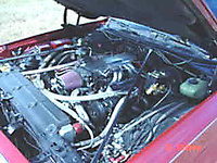 1976 Chevrolet Chevelle, tuned port fuel injection, engine