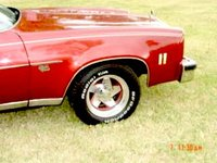 1976 Chevrolet Chevelle, Very rare wheels, exterior