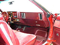 1976 Chevrolet Chevelle, new interior, interior