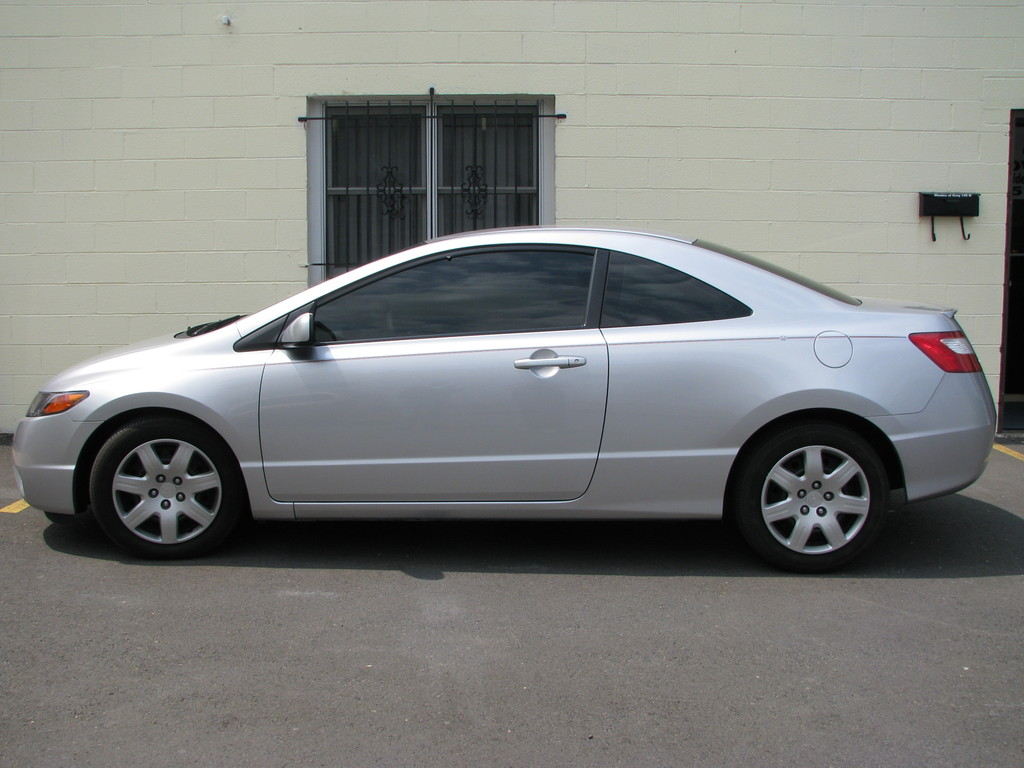 picture of 2007 honda civic coupe lx exterior. Black Bedroom Furniture Sets. Home Design Ideas
