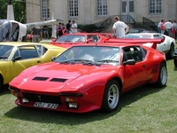 1985 De Tomaso Pantera Overview